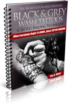 Ebook cover: Tattoo Shading Secrets