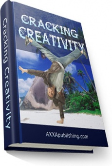 Ebook cover: Cracking Creativity!