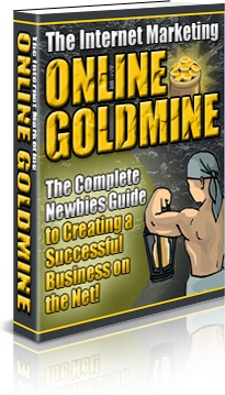 Ebook cover: The Internet Marketing Online Goldmine