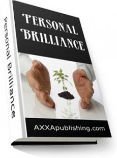 Ebook cover: Personal Brilliance