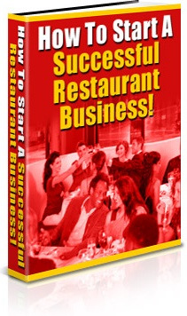 Ebook cover: How to Start a Successful Restaurant Business