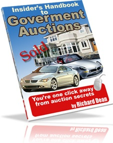 Ebook cover: Insider's Handbook To Goverment Auctions