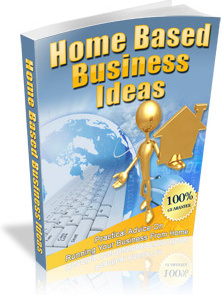 Ebook cover: Home Based Business Ideas