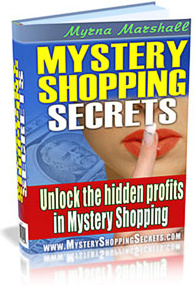 Ebook cover: Mystery Shopping Secrets