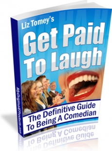 Ebook cover: Get Paid To Laugh