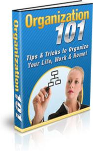 Ebook cover: Organization 101