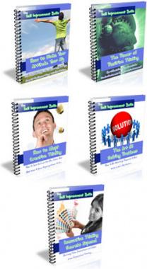 Ebook cover: Self Improvement Buff Series