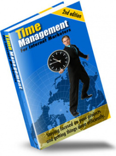 Ebook cover: Time Management For Internet Marketers