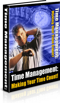 Ebook cover: Time Management - Making Your Time Count