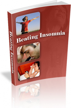 Ebook cover: Beating Insomnia
