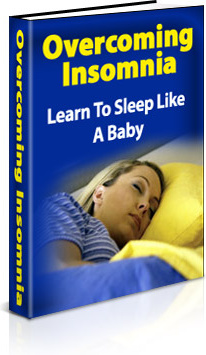 Ebook cover: Overcoming Insomnia