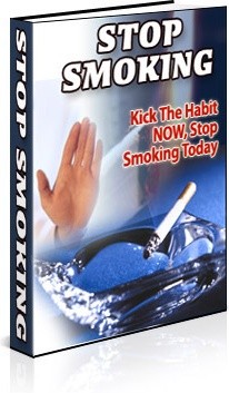 Ebook cover: Stop Smoking, Kick The Habit Now