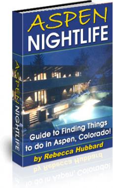 Ebook cover: Aspen Nightlife