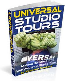 Ebook cover: Universal Studio Tours