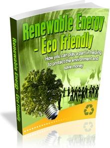 Ebook cover: Renewable Energy - Eco Friendly