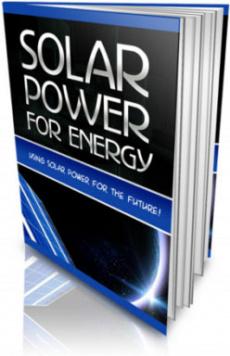 Ebook cover: Solar Power For Energy!