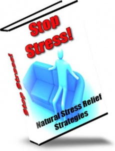 Ebook cover: Stop Stress!