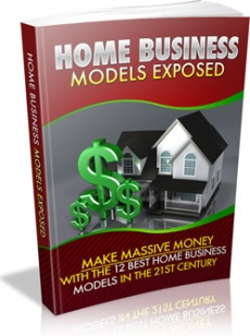 Ebook cover: Home Business Models Exposed