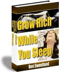 Ebook cover: Grow Rich While You Sleep