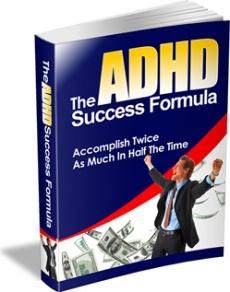 Ebook cover: The ADHD Success Formula