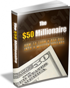 Ebook cover: The $50 Millionaire
