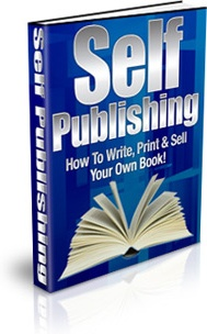 Ebook cover: Self Publishing