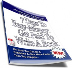 Ebook cover: Get Paid To Write A Book