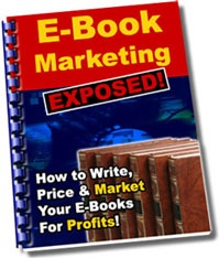 Ebook cover: E-Book Marketing Exposed