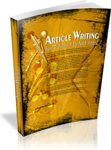 Ebook cover: ARTICLE WRITING