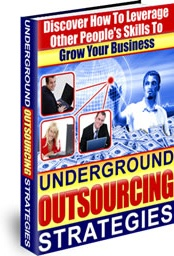 Ebook cover: Underground Outsourcing Strategies