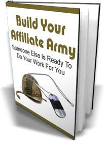 Ebook cover: Build Your Affiliate Army
