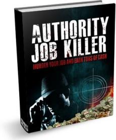 Ebook cover: Authority Job Killer