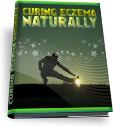 Ebook cover: Dealing With Eczema the Natural Way