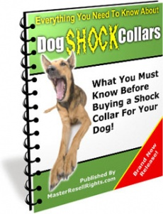Ebook cover: Dog Shock Collars