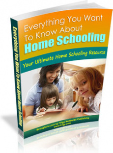 Ebook cover: Everything You Want To Know About Home Schooling
