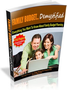 Ebook cover: Family Budget Demystified