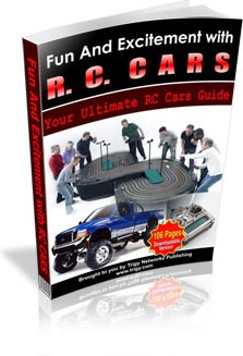Ebook cover: Fun And Excitement With RC Cars