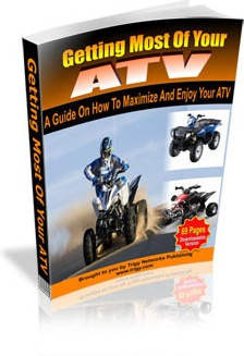 Ebook cover: Getting Most Of Your ATV
