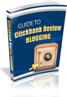 Ebook cover: Guide to Clickbank Review Blogging