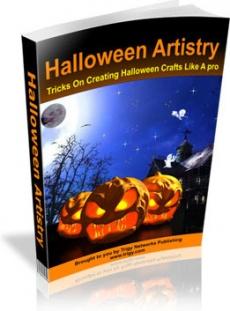 Ebook cover: Halloween Artistry