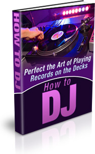 Ebook cover: How to DJ
