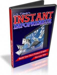 Ebook cover: The Instant Infoprenuer