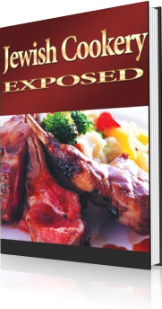 Ebook cover: Jewish Cookery Exposed