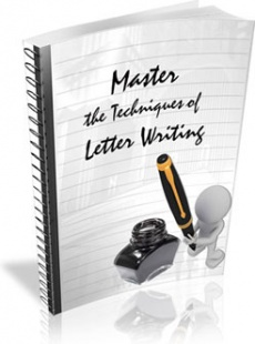 Ebook cover: Master The Techniques Of Letter Writing
