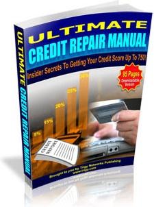 Ebook cover: Ultimate Credit Repair Manual