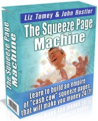 Ebook cover: The Squeeze Page Machine