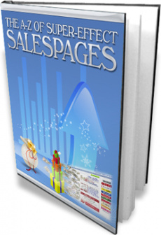 Ebook cover: A-Z of Super-Effective Sales Pages