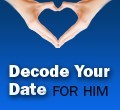 Ebook cover: Decode Your Date - For Him