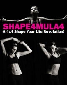 Ebook cover: SHAPE4MULA4: A 4Ã-4 Shape Your Life Revolution!