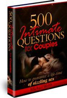 Ebook cover: 500 Intimate Questions for Couples